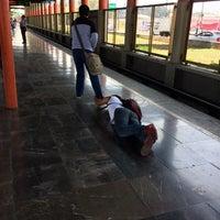 Photo taken at Metro Villa De Aragón (Línea B) by Juan Carlos O. on 6/13/2017