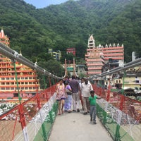 Photo taken at Lakshman Jhula | लक्ष्मण झूला by Satish K. on 6/26/2017