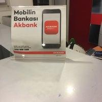 Photo taken at Akbank Yeni Gıda Çarşısı by Emrah Z. on 3/7/2018