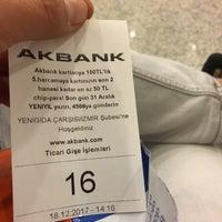 Photo taken at Akbank Yeni Gıda Çarşısı by Emrah Z. on 12/18/2017