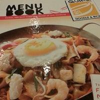 Photo taken at Qua-Li Noodle & Rice by Teguh W. on 5/3/2014