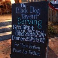 Photo taken at The Black Dog Tavern by J on 7/24/2013