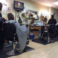 Photo taken at Bigga League Barber Shop by Bill B. on 11/30/2013