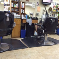Photo taken at Bigga League Barber Shop by Bill B. on 12/30/2013