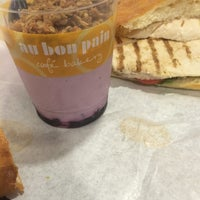 Photo taken at Au Bon Pain by Bill B. on 7/27/2014