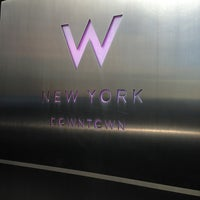 Photo taken at W New York - Downtown by Bill B. on 4/6/2013