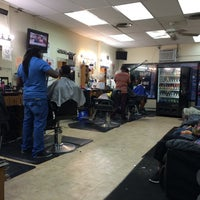 Photo taken at Bigga League Barber Shop by Bill B. on 8/23/2014
