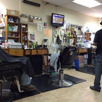 Photo taken at Bigga League Barber Shop by Bill B. on 11/2/2013