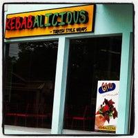 Photo taken at Kebabalicious by Jorge T. on 4/21/2013