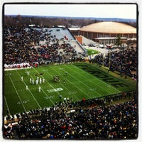 Photo taken at Ross-Ade Stadium by WhoJedi on 11/24/2012