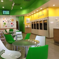 Photo taken at Moonberries Frozen Yogurt by Megan H. on 2/16/2013