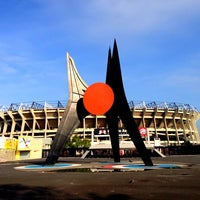 Photo taken at Estadio Azteca by Miguel D. on 6/24/2013