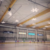 Photo taken at Sharks Ice at San Jose by Aki Y. on 7/4/2014