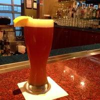 Photo taken at Gordon Biersch Bar & Restaurant by Aki Y. on 1/24/2013