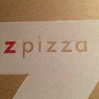 Photo taken at zpizza by Jon S. on 7/21/2014