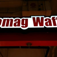 Photo taken at Leomag Waffle by San S. on 10/27/2015