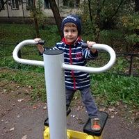 Photo taken at спорт площадка на Буренина by Анастасия П. on 9/19/2014