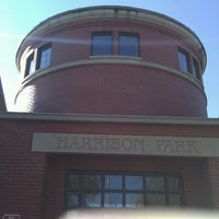 Photo taken at Harrison Park by Peter P. on 10/15/2012