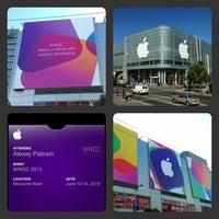 Photo taken at Moscone West by Alexey P. on 6/8/2013