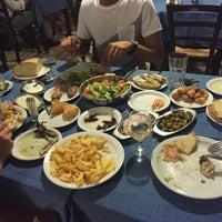 Photo taken at Zephyros Fish Tavern by Elenka M. on 7/11/2015