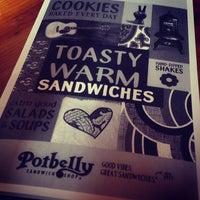 Photo taken at Potbelly Sandwich Shop by Christine L. on 2/12/2014