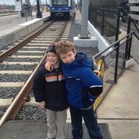 Photo taken at LYNX I-485/South Blvd Station by Tim S. on 1/6/2013