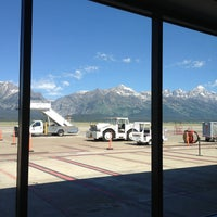 Photo taken at Jackson Hole Airport (JAC) by Susan K. on 7/6/2013