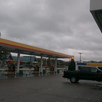 Photo taken at Shell Gas Station by Michael T. on 11/6/2013