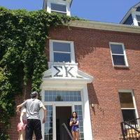 Photo taken at Sigma Kappa by Jen F. on 5/25/2013