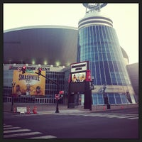 Photo taken at Bridgestone Arena by Jason R. on 7/17/2013