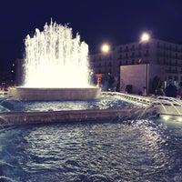 Photo taken at Piazza Libertà by Raffaele M. on 8/4/2017