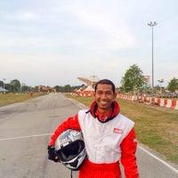 Photo taken at Inderapura Gokart Circuit by iamrozi on 4/4/2014