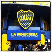 """Foto tirada no(a) Estadio Alberto J. Armando """"La Bombonera"""" (Club Atlético Boca Juniors) por Matias M. em 7/8/2013"""