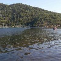 Photo taken at Orhaniye Marina by Murat S. on 7/17/2015