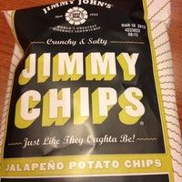 Photo taken at Jimmy John's by Nuala M. on 1/6/2013