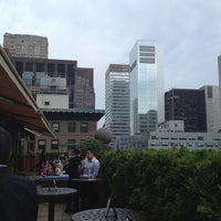 Photo taken at Mad 46 Rooftop Lounge by Alan P. on 6/28/2013