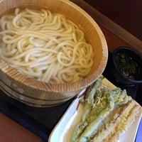 Photo taken at Marugame Seimen by かきちゃん on 2/20/2015