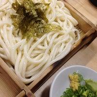 Photo taken at 手打ちうどん まつや by かきちゃん on 5/29/2014