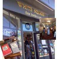 Photo taken at White Square - Fine Books & Art by LaShunda F. on 7/5/2014