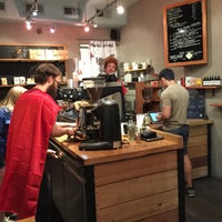 Photo taken at Spitfire Coffee by Winston L. on 9/7/2015