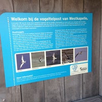 Photo taken at Vuurtoren Noorderhoofd by Bert K. on 7/13/2013