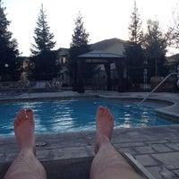 Photo taken at Village Terrace Pool by Vadim G. on 10/23/2013