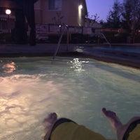 Photo taken at Village Terrace Pool by Vadim G. on 3/17/2014
