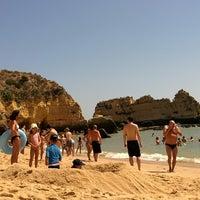 Photo taken at Quiosque Praia da Dona Ana by Carlos C. on 7/17/2014