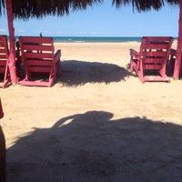 Photo taken at Playa miramar by Rebe J. on 5/22/2015