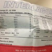 Photo taken at Interlagos karting by Diego H. on 1/25/2013
