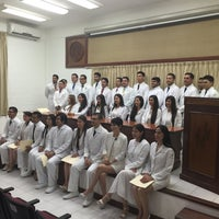 Photo taken at Auditorio Facultad de Medicina by Emilio e. on 9/25/2015