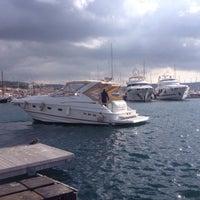 Photo taken at u_dream çeşme marina by umitdenizz35 on 2/8/2015