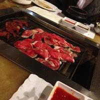 Photo taken at Cham Sut Gol Korean BBQ by LaTruce d. on 2/11/2013