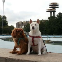 Photo taken at The Unisphere by Kyle Willow B. on 9/30/2012